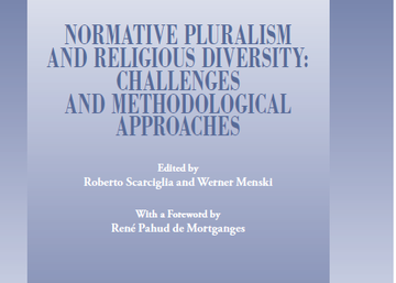 "Presentación del Libro ""NORMATIVE PLURALISM AND RELIGIOUS DIVERSITY: CHALLENGES AND METHODOLOGICAL APPROACHES"""